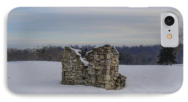 Ravages Of Winter IPhone Case by Bill Cannon