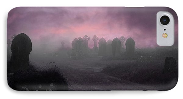 Rave In The Grave Phone Case by Terri Waters