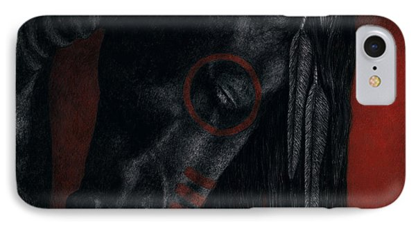 IPhone Case featuring the painting Raven Wing by Pat Erickson