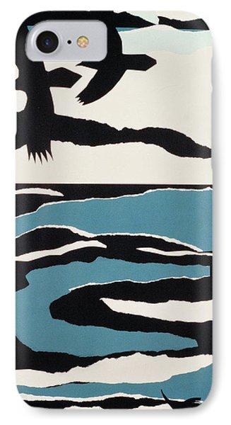 Ravens IPhone Case by John Wallington