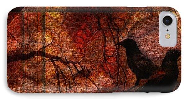 Ravens World Edited IPhone Case