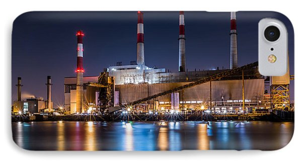 Ravenswood Generating Station IPhone Case by Mihai Andritoiu