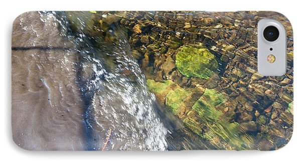 Raw Sewage Mixing With Clean Water IPhone Case by Ashley Cooper