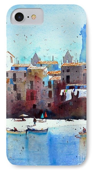 Rawer At Cefalu Phone Case by Andre MEHU