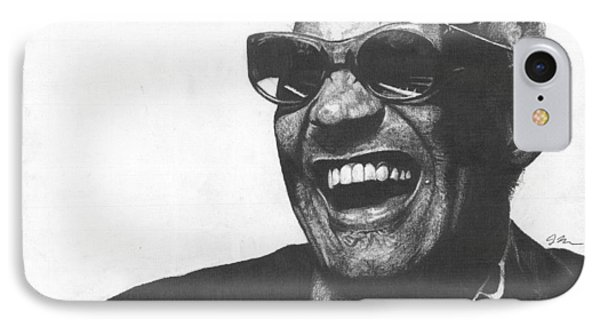 Ray Charles Phone Case by Jeff Ridlen
