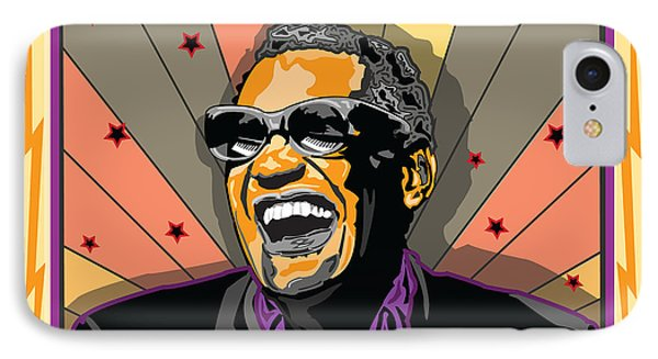 Ray Charles Phone Case by Larry Butterworth