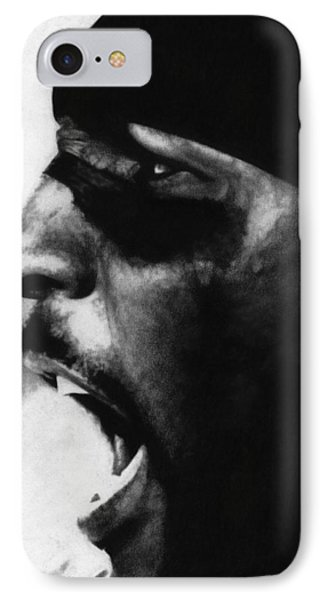 Ray Lewis IPhone Case by Justin Clark