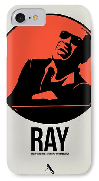 Ray Poster 1 IPhone Case by Naxart Studio