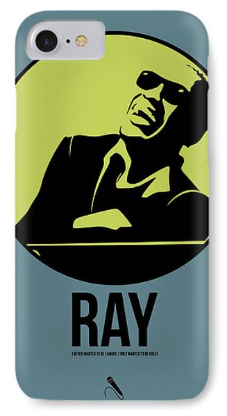 Ray Poster 2 IPhone Case by Naxart Studio