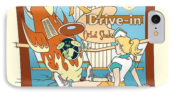 Ray's Drive-in - Blonde IPhone Case
