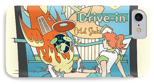 Ray's Drive-in - Redhead IPhone Case