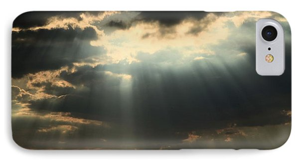 Rays From Heaven IPhone Case by Adam Jewell