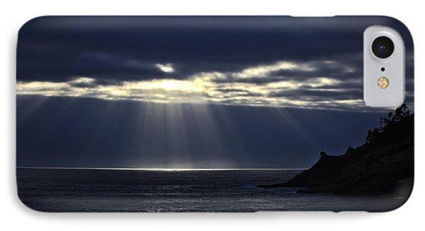 Rays Of Hope At Cape Kiwanda Oregon IPhone Case