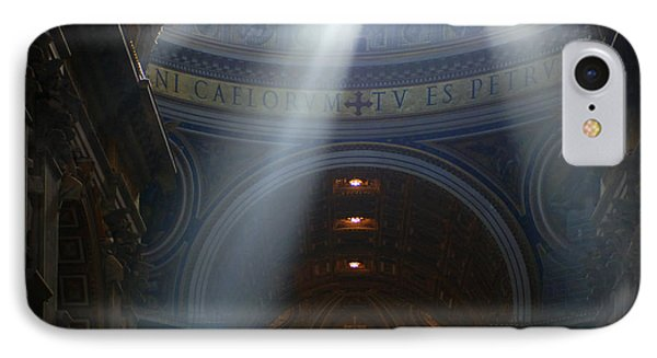 Rays Of Hope St. Peter's Basillica Italy  IPhone Case