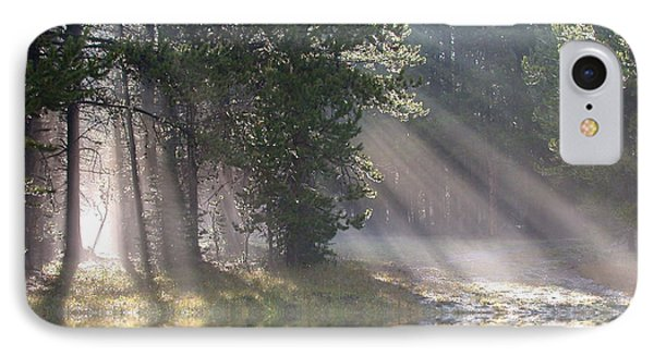 Rays Of Light Phone Case by Shane Bechler