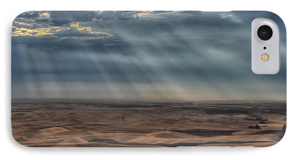 Rays On The Palouse IPhone Case by Mark Kiver