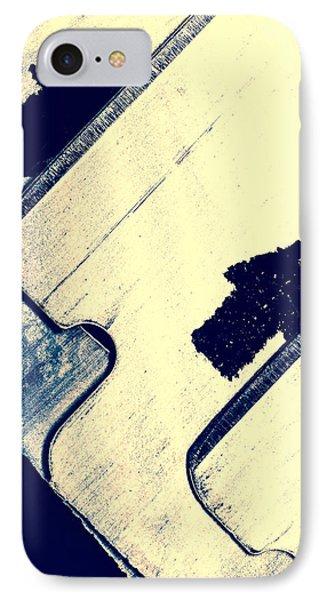Razor Blades IPhone Case by Bob Orsillo