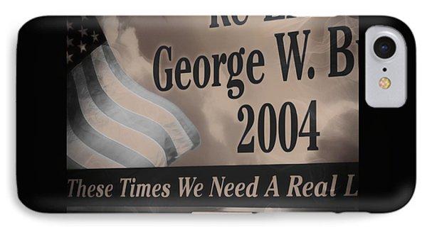 Re-elect Bush IPhone Case