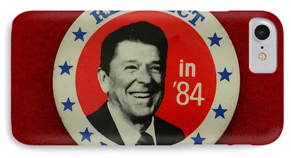 Re-elect Reagan IPhone Case by Paul Ward