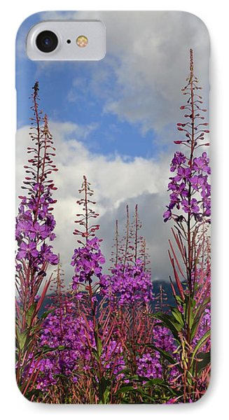 IPhone Case featuring the photograph Reach For The Sky by Cathy Mahnke