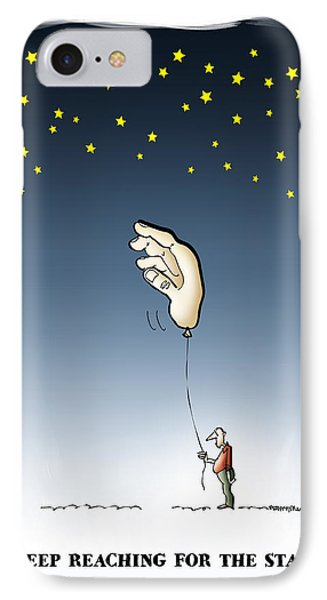 Reach For The Stars Phone Case by Mark Armstrong