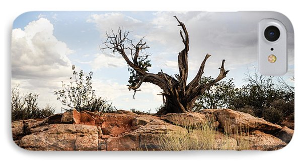Reaching IPhone Case by Cheryl McClure