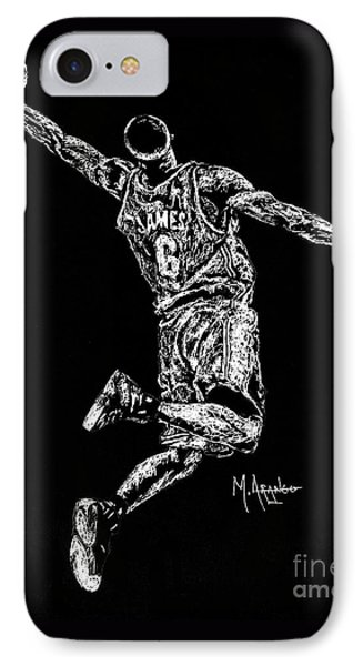 Reaching For Greatness #6 IPhone Case by Maria Arango