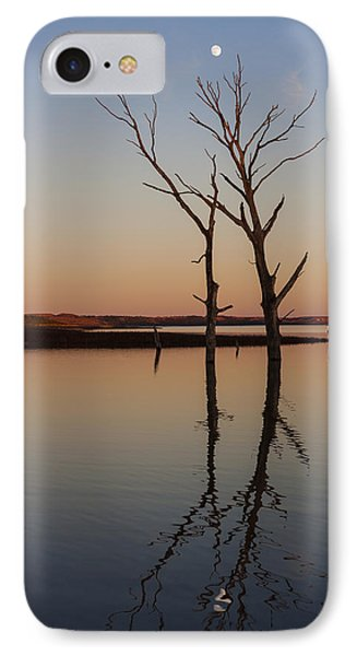 Reaching For The Moon II IPhone Case by Scott Bean