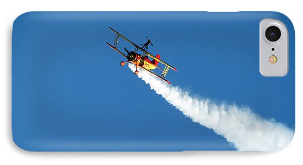 Reaching For The Moon. Oshkosh 2012. Postcard Border. IPhone Case by Ausra Huntington nee Paulauskaite