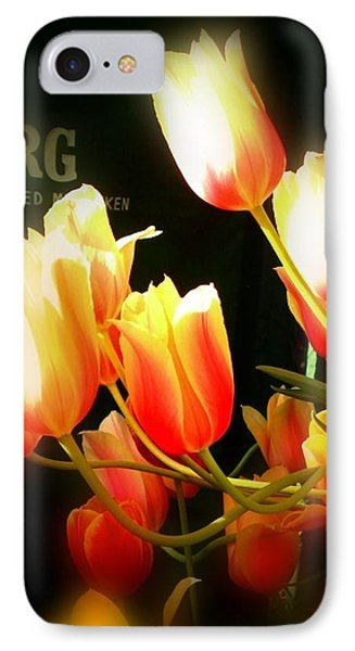 Reaching For The Sun IPhone Case by Peggy Stokes