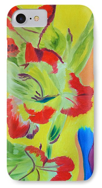Reaching Up IPhone Case by Meryl Goudey