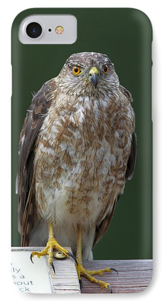 IPhone Case featuring the photograph Read Where I'm Pointing At by Gerry Sibell