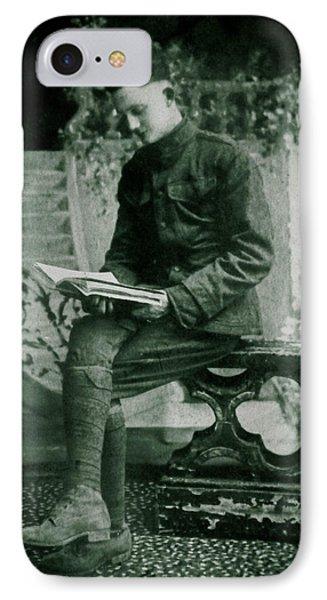 Reader In Dijon IPhone Case