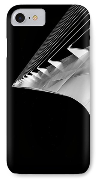 Reading A Sundial At Midnight IPhone Case by Alex Lapidus