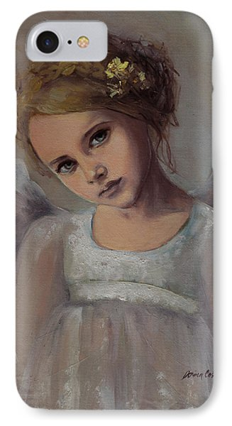 Reading Into Your Soul  IPhone Case by Dorina  Costras