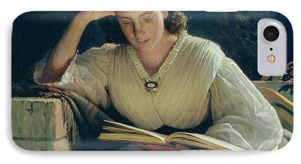 Reading IPhone Case by Ivan Nikolaevich Kramskoy