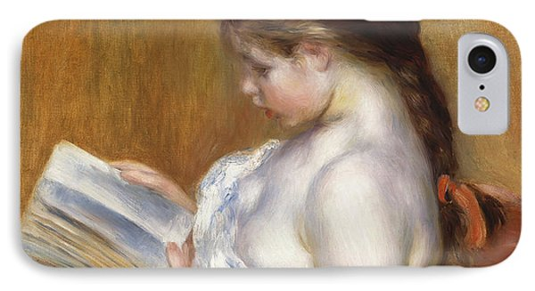 Reading IPhone Case by Pierre Auguste Renoir