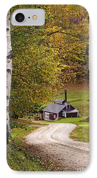 Reading Vermont Sugar Shack IPhone Case