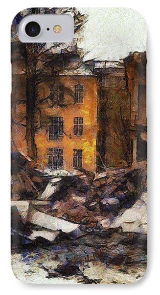 Ready For Demolition Phone Case by Gun Legler