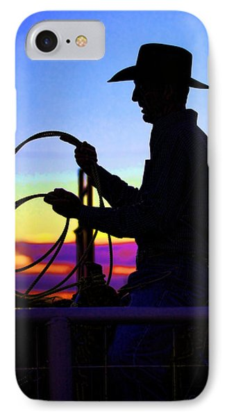 Ready To Rope I IPhone Case by Toni Hopper