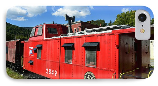 Really Red Caboose IPhone Case by Thomas R Fletcher