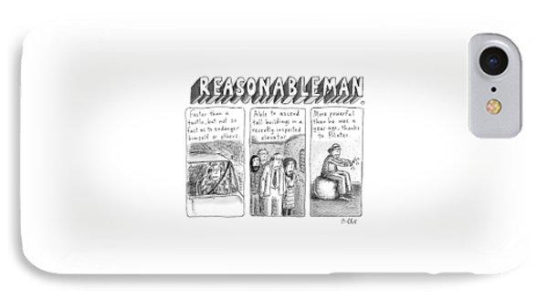Reasonableman -- Superhero-like Qualities That IPhone Case