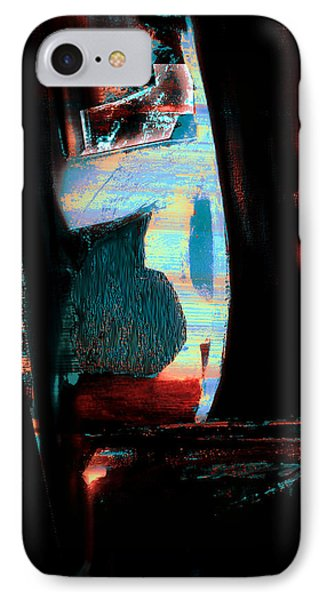 IPhone Case featuring the painting Reasons- Ewf Series 5 by Yul Olaivar