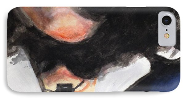 IPhone Case featuring the painting Reba by Stan Tenney