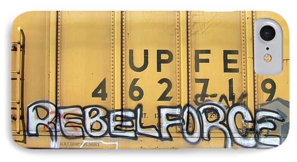 Rebel Force Phone Case by Donna Blackhall