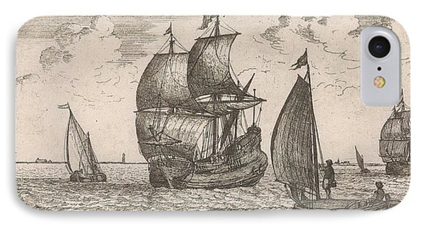 Receipt Of The Post At Sea, Jacob Quack, Jan Houwens IPhone Case