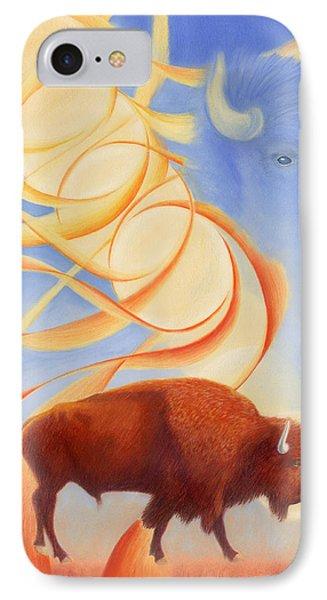 Receiving Buffalo IPhone 7 Case by Robin Aisha Landsong