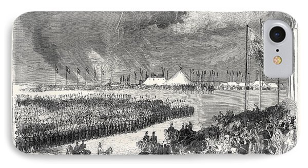 Reception Of The Belgian Riflemen At The Camp On Wimbledon IPhone Case