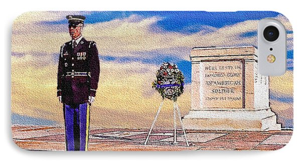 Recitation Of The Requirements Of Honor Guards IPhone Case by Bob and Nadine Johnston