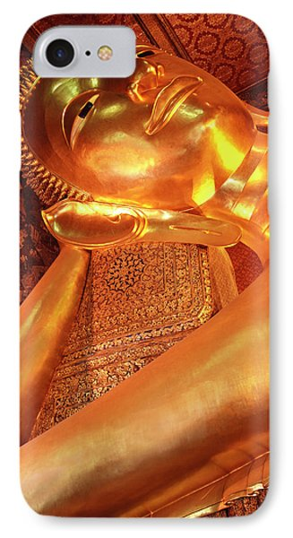 Reclining Buddha IPhone Case by Adam Romanowicz